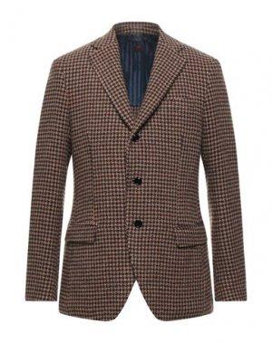 Пиджак MP MASSIMO PIOMBO. Цвет: светло-коричневый
