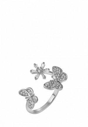 Кольцо Ice&High Collection. Цвет: серебряный