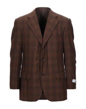 Пиджак TRUSSARDI. Цвет: коричневый