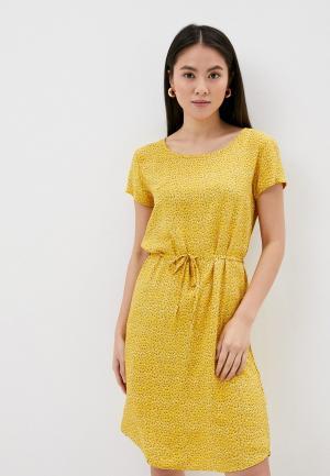 Платье Fresh Made. Цвет: желтый