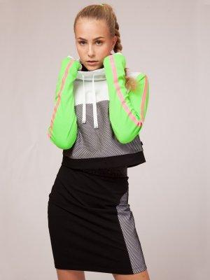 Комплект свитшот укороченный юбка Nota Bene