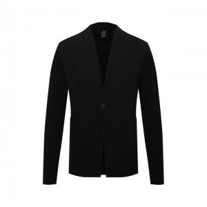 Хлопковый пиджак Thom Krom. Цвет: чёрный
