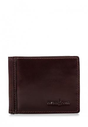 Зажим для купюр Gianni Conti. Цвет: коричневый