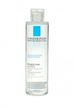 Мицеллярная вода La Roche-Posay ULTRA для чувствительной кожи лица и глаз, 200 мл. Цвет: прозрачный