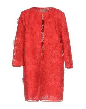 Легкое пальто TRESOPHIE. Цвет: красный