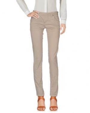 Повседневные брюки FRESH MADE. Цвет: бежевый