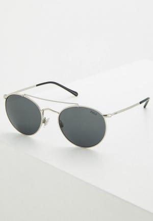 Очки солнцезащитные Polo Ralph Lauren PH3114 932687. Цвет: серебряный