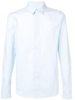 Рубашка с длинными рукавами A.P.C.. Цвет: синий