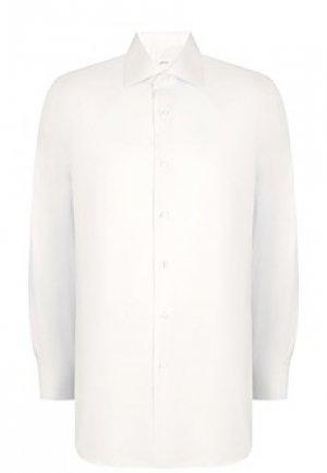 Рубашка BRIONI. Цвет: белый