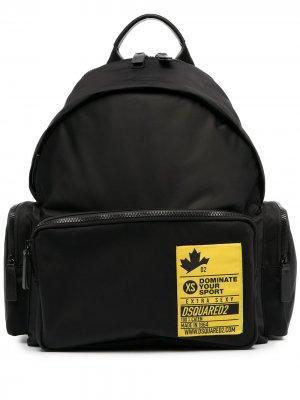 Рюкзак Dominate Your Sport Dsquared2. Цвет: черный