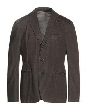 Пиджак VERSACE COLLECTION. Цвет: темно-зеленый