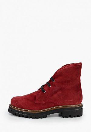 Ботинки El Tempo. Цвет: красный