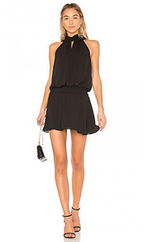 Мини платье kimmie Amanda Uprichard. Цвет: черный