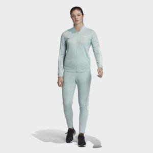 Спортивный костюм Back 2 Basics Performance adidas. Цвет: зеленый