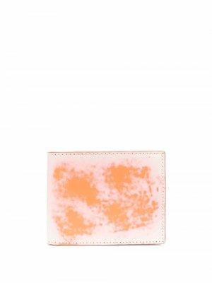 Бумажник с абстрактным принтом CamperLab. Цвет: белый