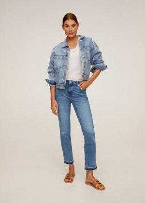 Укороченные джинсы Skinny - Grace Mango. Цвет: синий средний