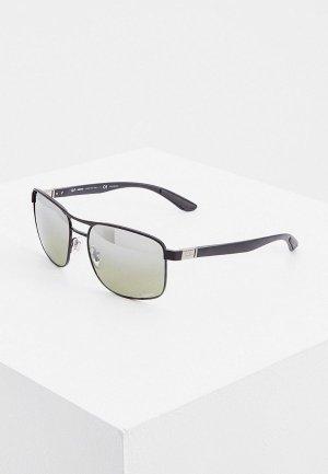 Очки солнцезащитные Ray-Ban® RB3660CH 186/5J, с поляризацией. Цвет: черный