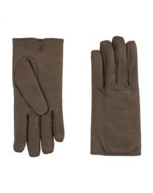 Перчатки MAISON MARGIELA. Цвет: зеленый-милитари