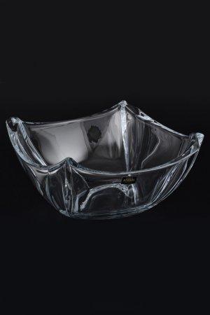 Салатник 25 см Crystalite Bohemia. Цвет: прозрачный