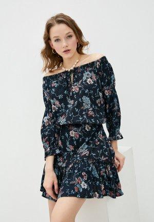 Платье Brunotti. Цвет: разноцветный