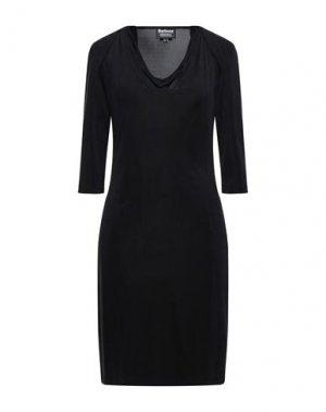Короткое платье BARBOUR. Цвет: черный