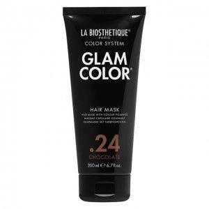 Тонирующая маска для волос .24 Chocolate La Biosthetique. Цвет: бесцветный