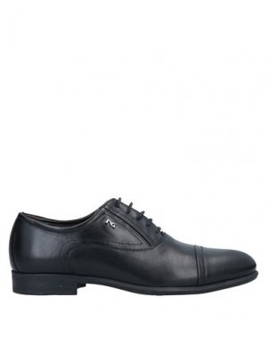 Обувь на шнурках NERO GIARDINI. Цвет: черный