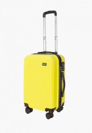 Чемодан Proffi travel Tour Daily, S. Цвет: желтый