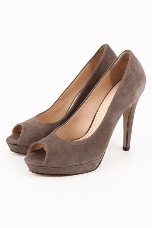 Туфли DELANO. Цвет: коричневый