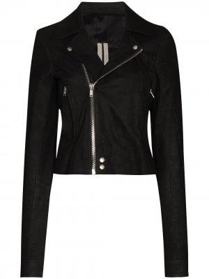 Байкерская куртка Performa Rick Owens. Цвет: черный