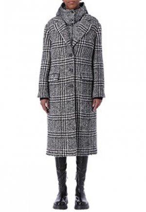 Пальто ERMANNO SCERVINO. Цвет: серый
