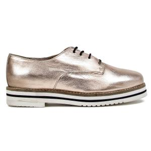 Ботинки-дерби AVOCADO из кожи COOLWAY. Цвет: бронзовый