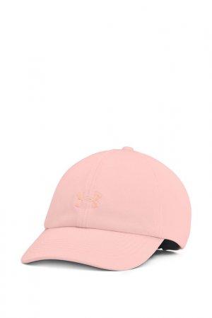 Бейсболка Ua Play Up Cap Under Armour. Цвет: розовый