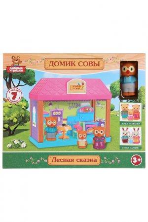 Пластизолевые игрушки Играем вместе. Цвет: розовый