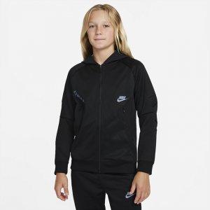 Худи с молнией во всю длину для мальчиков школьного возраста Air Max - Черный Nike