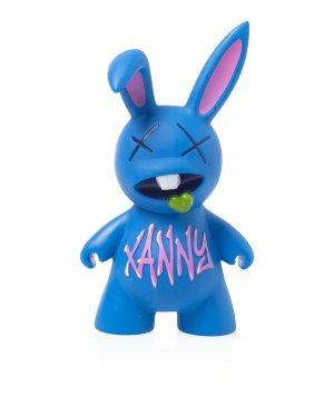 Игрушка кролик PHAAV70 UNI синий Pharmacy Industry. Цвет: синий