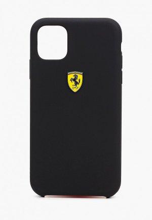 Чехол для iPhone Ferrari 11. Цвет: черный