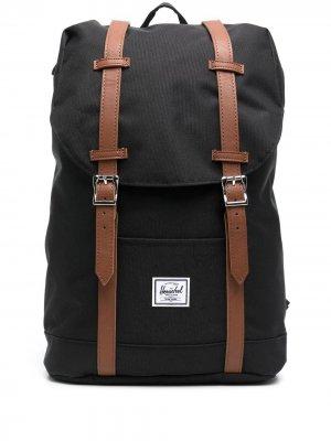 Рюкзак с нашивкой-логотипом Herschel Supply Co.. Цвет: черный