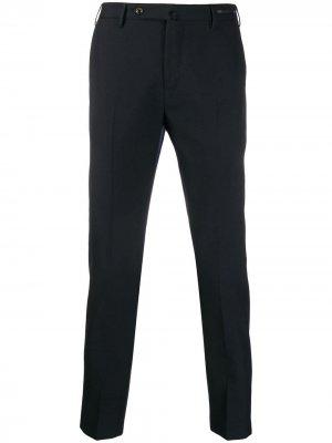 Классические брюки строгого кроя Pt01. Цвет: синий