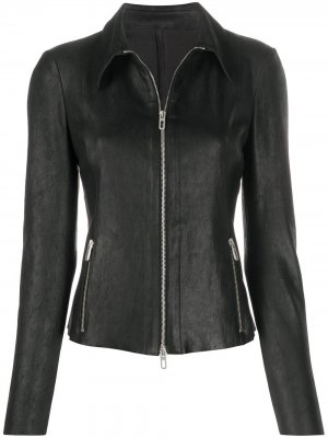 Приталенная куртка Drome. Цвет: черный