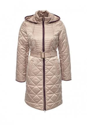 Куртка утепленная Conver. Цвет: бежевый
