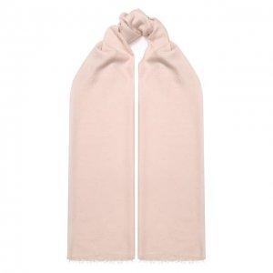 Шерстяной шарф St. John. Цвет: розовый