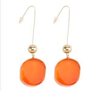 Серьги Ekonika EN49908 orange/gold-20Z
