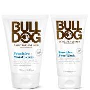 Набор средств для ухода за чувствительной кожей лица Sensitive Face Duo Bulldog