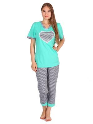 Пижама Flip. Цвет: зеленый