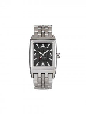 Наручные часы Reverso Grand Sport pre-owned 27 мм Jaeger-LeCoultre. Цвет: черный