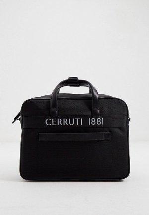 Сумка Cerruti 1881. Цвет: черный