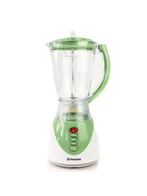 Блендер и кофемолка 2в1. Technika  1,5л. Цвет: зеленый