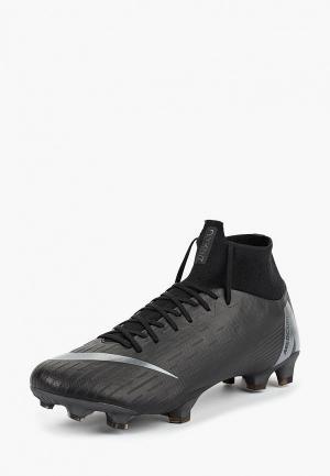 Бутсы Nike Superfly 6 Pro FG Firm-Ground Football Boot. Цвет: черный