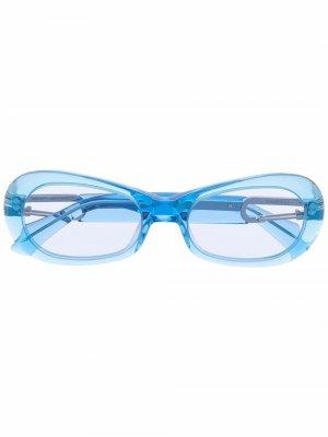 Солнцезащитные очки AMBUSH. Цвет: синий